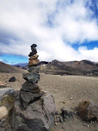 Steinmännchen sind auch in Neuseeland en vogue