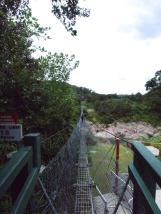 Hängebrücke über den Buller
