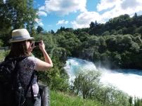 Die Huka Falls bieten viele Fotomotive
