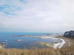 Küstenlinie von Kaikoura