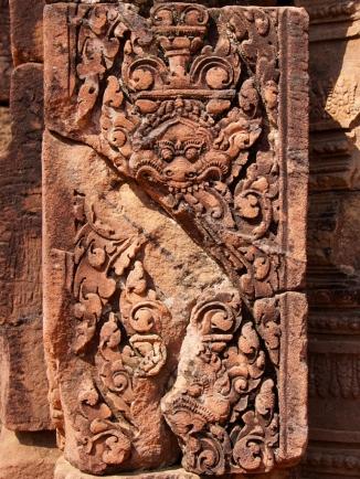 Die feinen Reliefs sind erstaunlich gut erhalten