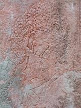 Apsara-Tänzerin als Relief