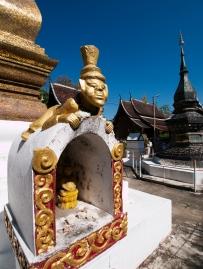 Außergewöhnliche Figuren im Tempel