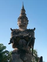 Szenen aus der buddhistischen Mythologie