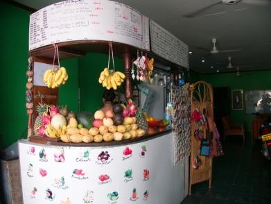 Jede Menge frische Früchte für die Shakes