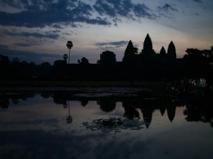 Atemberaubender Blick auf Angkor Wat