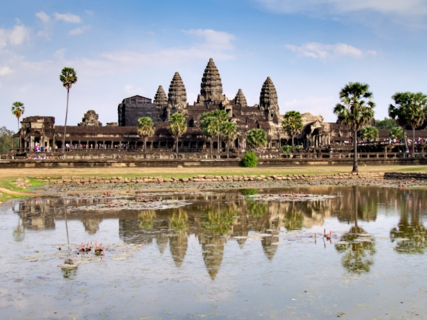 Angkor Wat verabschiedet uns im besten Licht
