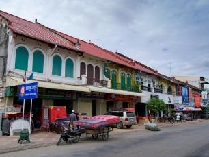 In Battambang läuft das Leben ganz gemächlich ab