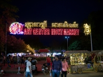 Der Art Night Market verführt zum shoppen