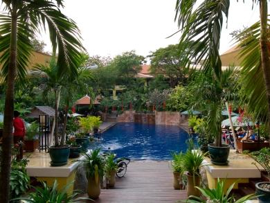 Das Victoria Angkor Resort sollte man gesehen haben