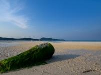 Bei Ebbe wird da Strand nahezu endlos breit