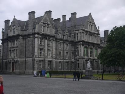 Die Architektur des Trinity College hat uns verzaubert
