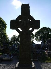 Mächtiges Hochkreuz in Monasterboice