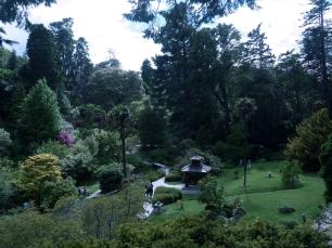 Der japanische Garten ist eines der vielen Highlights in den Gärten