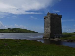 Kein typisches Schloss: Rockfleet Castle.