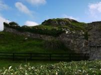 Die nächste Ruine ist in Irland nie weit.