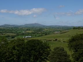 Beeindruckende Aussicht auf das County Down.