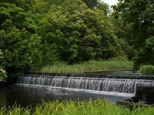 Ruhe pur auf dem Riverside Walk durch den Park.