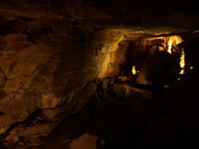 Höhlensysteme hatten wir in Irland zunächst nicht erwartet.