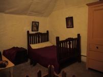 Die Betten wären schon ganz schön klein.
