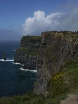 Der 67m hohe Branaunmore war einst Teil der Cliffs.