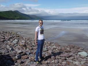 Am Morgen zeigte sich Kerry von der sonnigen Seite.