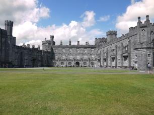 Keine Stadt ohne Schloss - Das Kilkenny Castle.