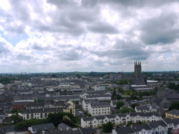 Vom Turm der Kathedrale haben wir uns einen Überblick verschafft.