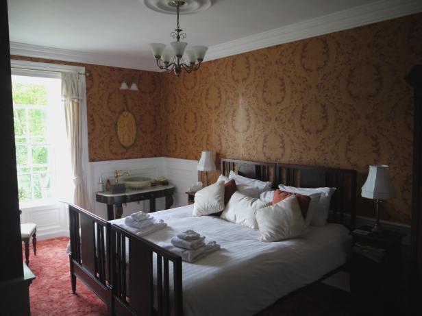 Im Amber Room fühlten wir uns wie ein altirisches Herzogenpaar!