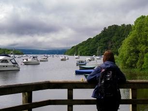 Der erste Blick auf den See schindete schon Eindruck.
