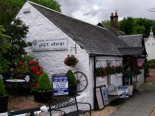 Ein kleiner Gift Shop im verträumten Luss.
