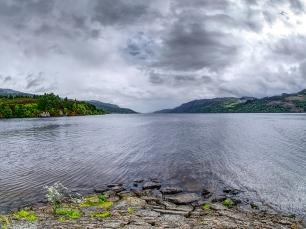 ... oder vom südlichen Ende. Loch Ness hat uns nicht umgehauen.