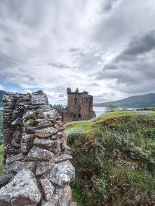 Nur wenige Teile des Schlosses sind noch erhalten.