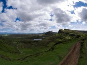 Der Anblick der schottischen Landschaften hat uns regelmäßig die Sprache verschlagen.