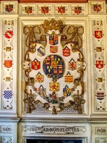 Wappen des Clans Sutherland.