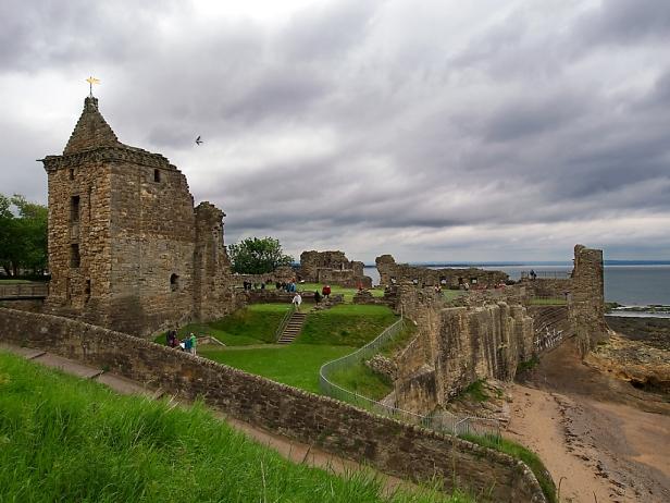 St. Andrews Castle haben wir links liegen lassen. Da hatten wir bereits genug von Schlössern.