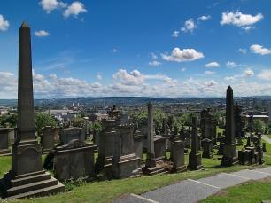 Die Necropolis bietet einen tollen Blick auf Glasgow.