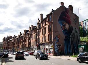 Der bekannteste Mann Glasgows!