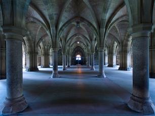 Eine Kathedrale des Wissens: die Glasgow University.