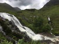 Wasserfälle gibt es in Glencoe alle naselang.