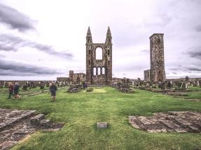 Die Ruinen der Kathedrale sind wirklich beeindruckend.