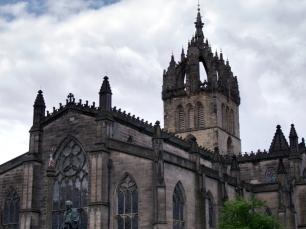 St Giles' Cathedral ist nicht nur von außen beeindruckend.