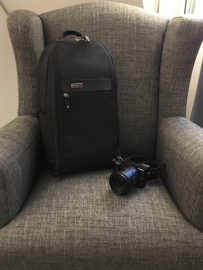 Von außen ist der Rucksack recht unauffällig.