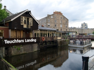 "...im ""Teuchters Landing"": in Leith verdurstet man nicht."