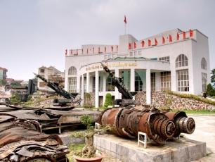 Den Helden des Krieges wurde ein eigenes Museum gewidmet.