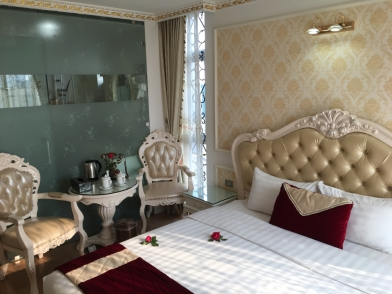 Zimmer im royalen Stil.