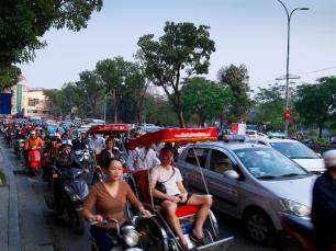 Auf den Straßen herrscht oft Chaos.