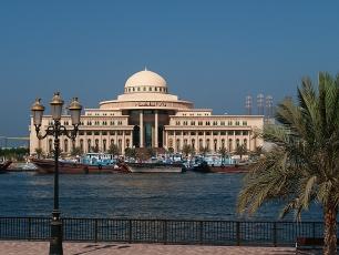 Eine nette Abwechslung: Sharjah.