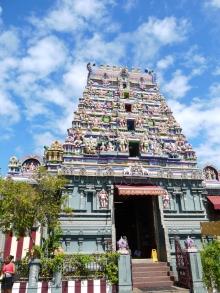 Der hinduistische Tempel in Victoria.