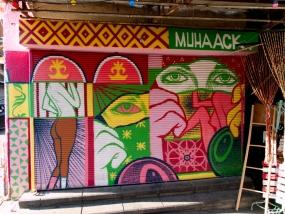 Auch in Jaffa findet man viel Streetart.